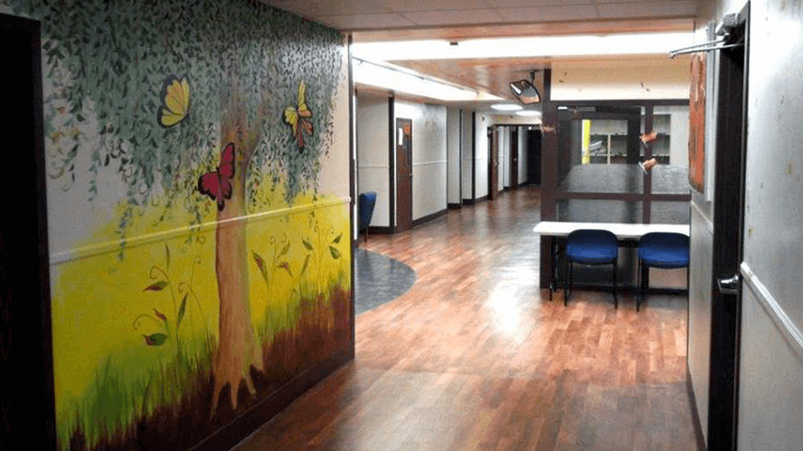 Patient Hallway and Common Area | LincolnBehavioral.com